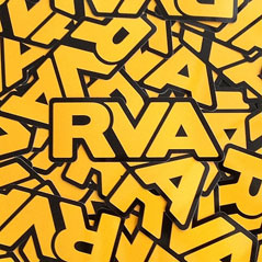 RVA Black & Gold Sticker